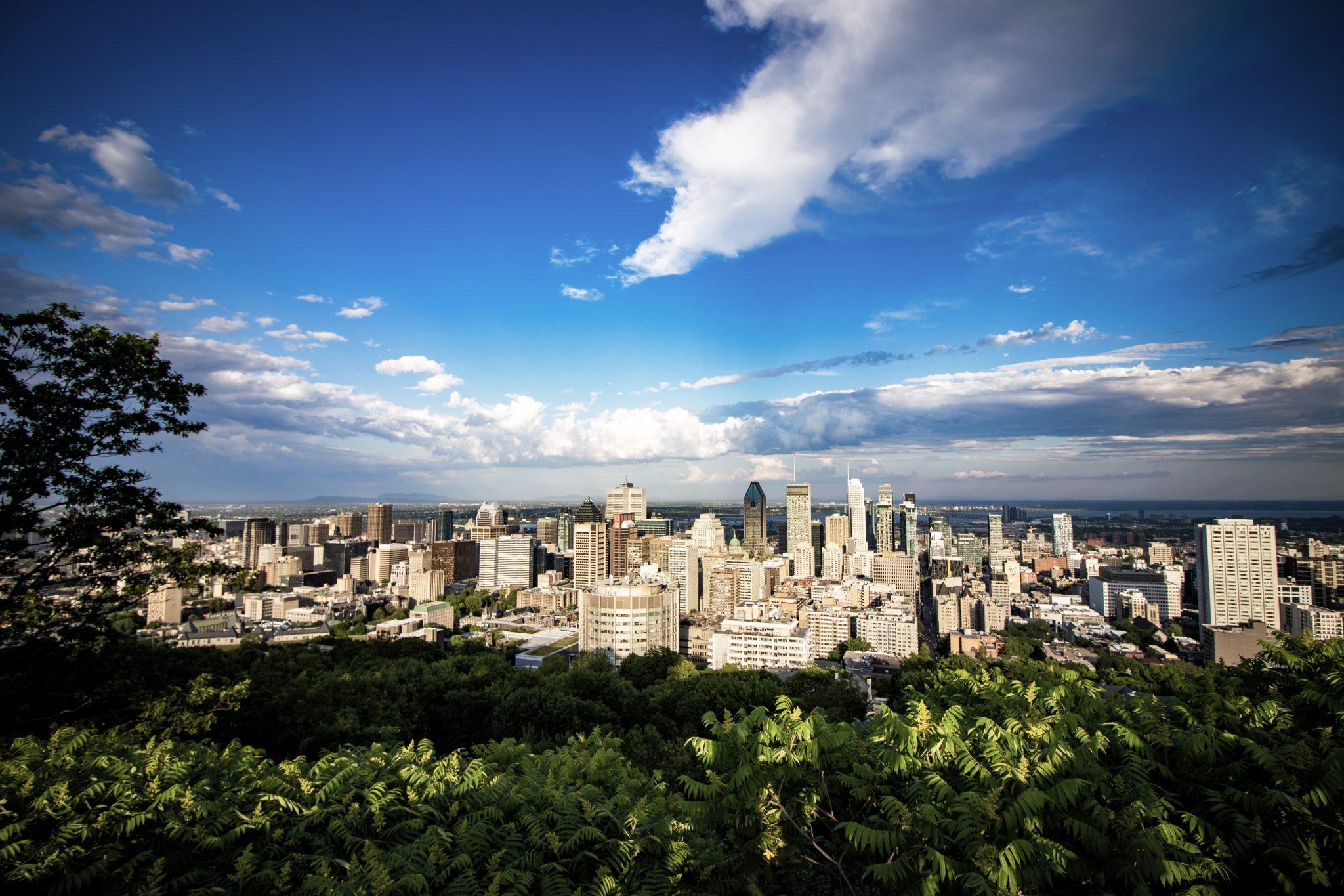 Photographie Voyage, Ville de Montréal Canada