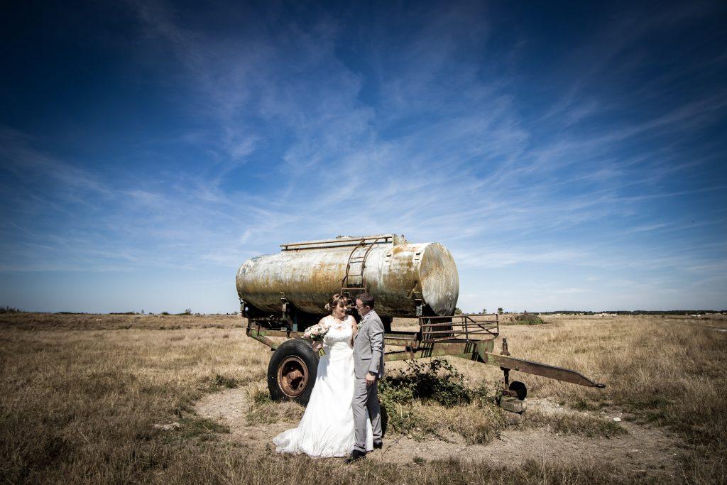 Mariage dans les marais